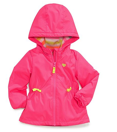 Carter's raincoat