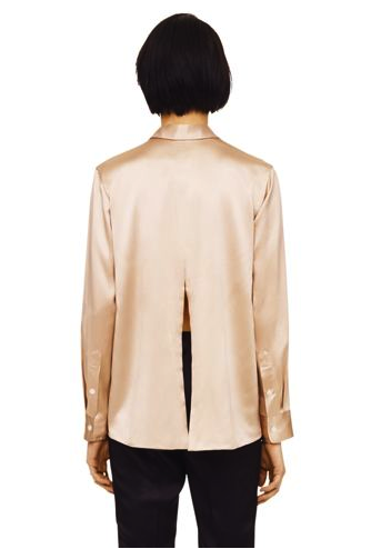 Club Monaco top with split back