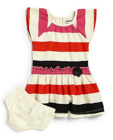 DKNY terry dress