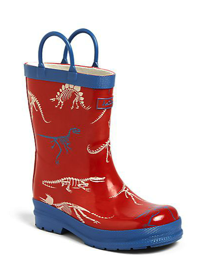 Hatley dino rain boots