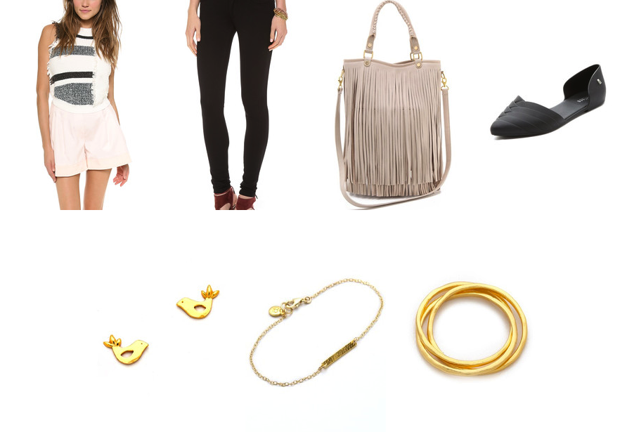 How to wear fringe from the park to brunch