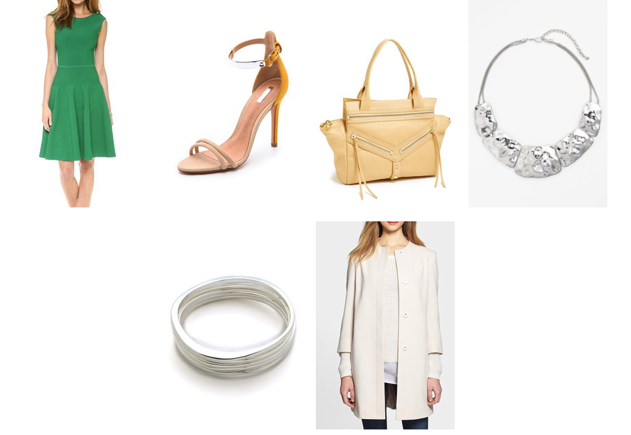 How to wear green from desk to date