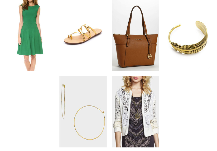 How to wear green from the park to brunch
