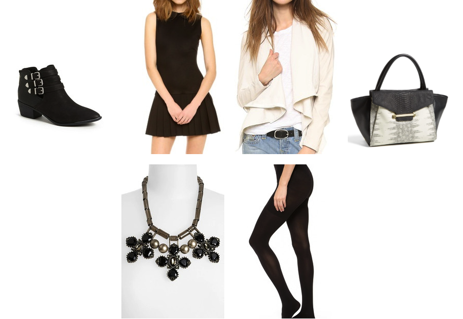 How to wear the shoe bootie from desk to date