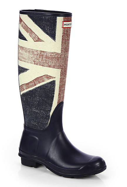 Hunter brit rain boots