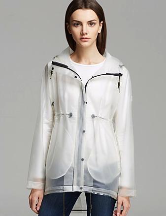 Hunter rain coat