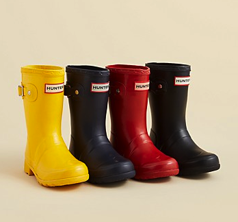Hunter wellies (color options)