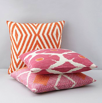 JR by John Robshaw decorative pillows