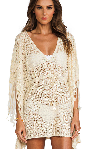Luli Fama caftan cover up