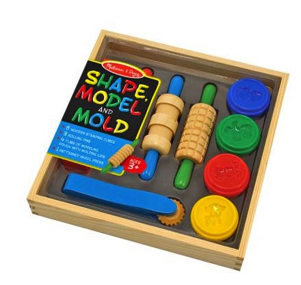 Melissa & Doug shape model and mold set