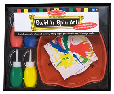 Melissa and Doug swirl and spin art set