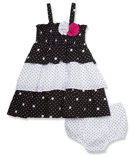 Penelope Mack dress and bloomers set