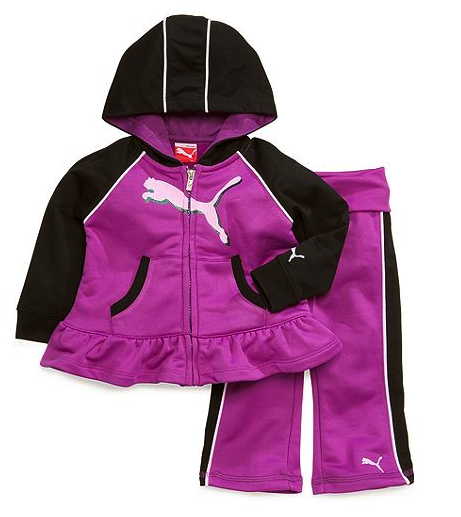 Puma hoodie and pants set