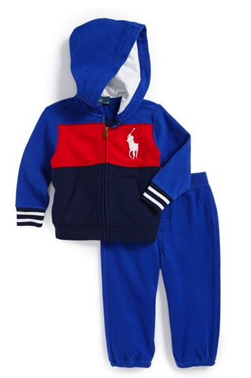 Ralph Lauren hoodie and sweatpants set