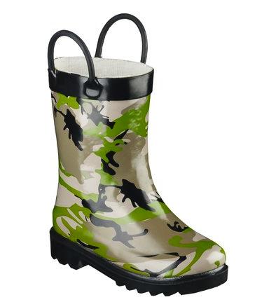 Ronin camo rain boots