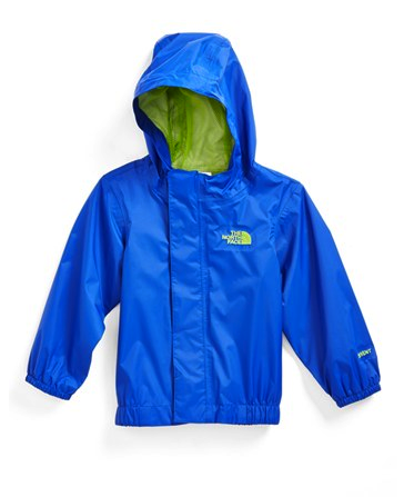The North Face baby rain jacket