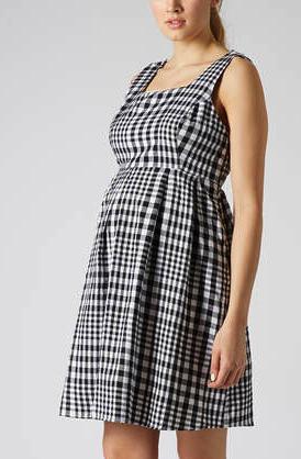 Topshop maternity dress
