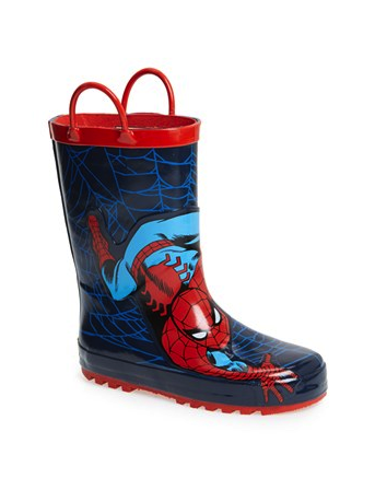 Western Chief spiderman rain boots