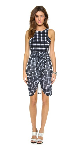 findersKEEPERS plaid dress