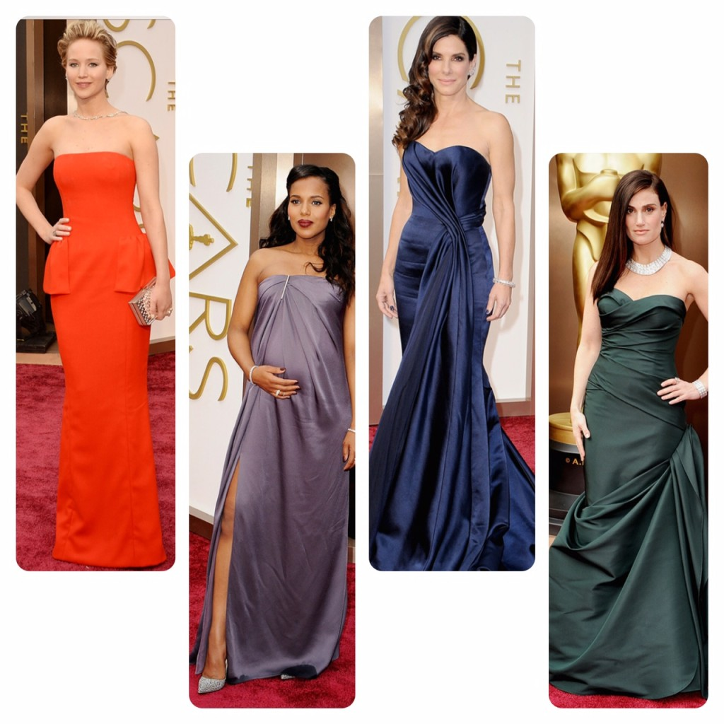 Oscar 2014 fashion trend report