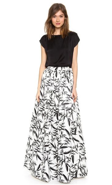 Alice + Olivia ball gown skirt