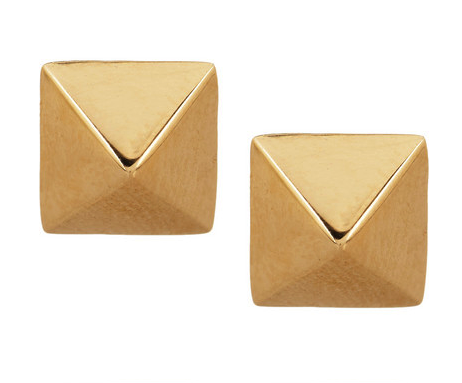 Anita Ko rose gold stud earrings