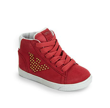 Armani Junior hightops