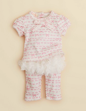 Biscotti top and tutu leggings set