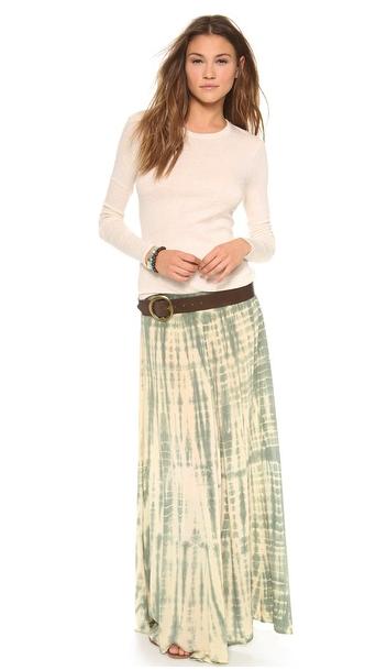 Blue Life maxi skirt
