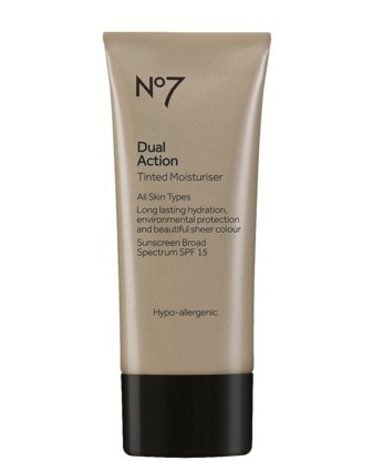 Boots No 7 dual action tinted moisturizer