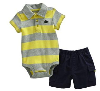 Carter's bodysuit and shorts set
