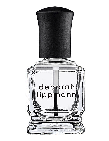 Deborah Lippmann hydrating hardener (top and bottom polish)