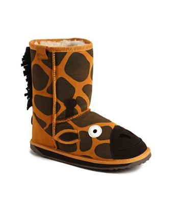 Emu giraffe boots