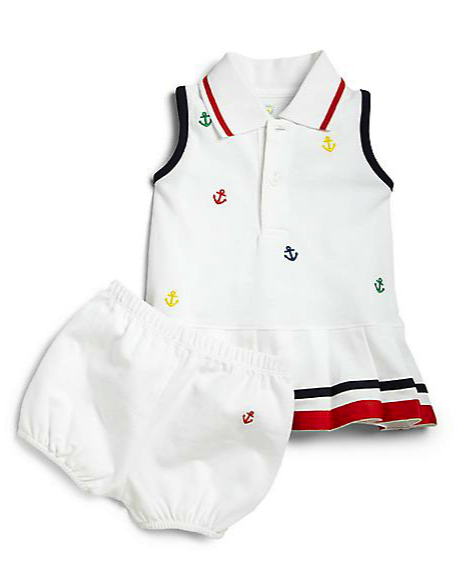 Florence Eiseman dress and bloomers set