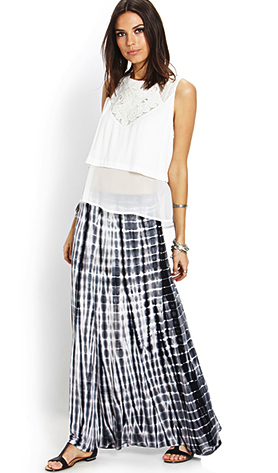 Forever 21 maxi skirt