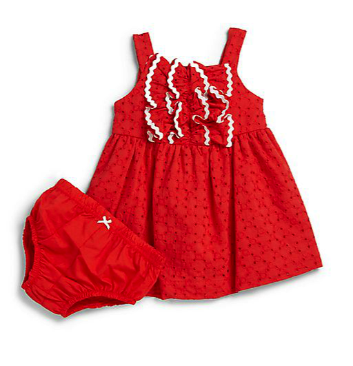 Hartstings dress and bloomers set
