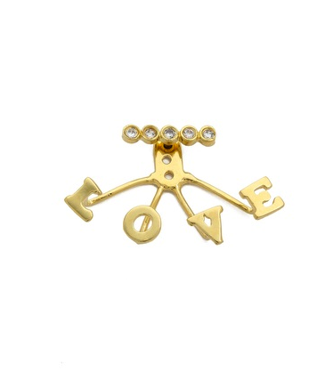 Jacquie Aiche lover earring