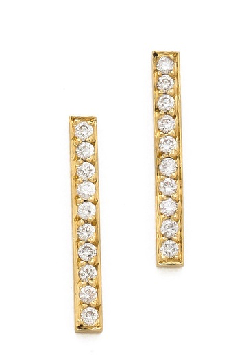 Jennifer Meyer diamond earrings