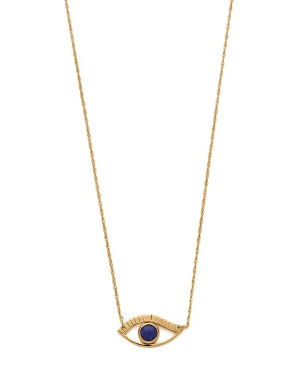Jennifer Zeuner Jewelry eye necklace