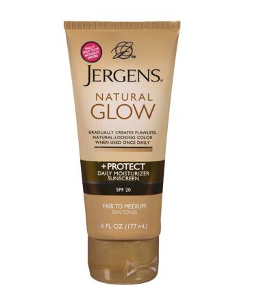 Jergens natural glow moisturizer gradual tan