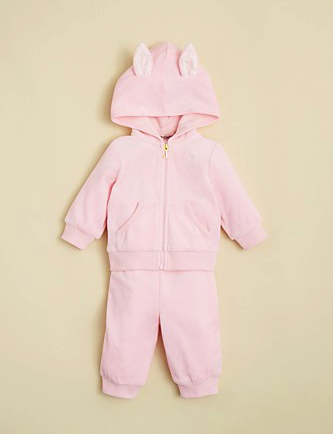 Juicy Couture hooded jumpsuit