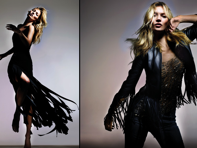 Kate Moss - boho meets rock chic