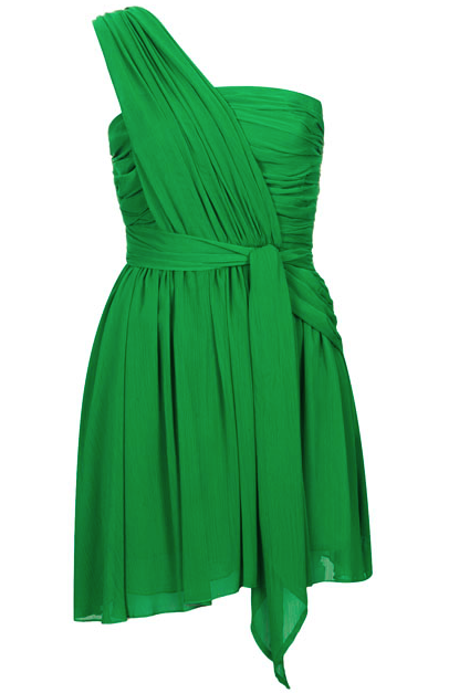 Kate Moss green dress