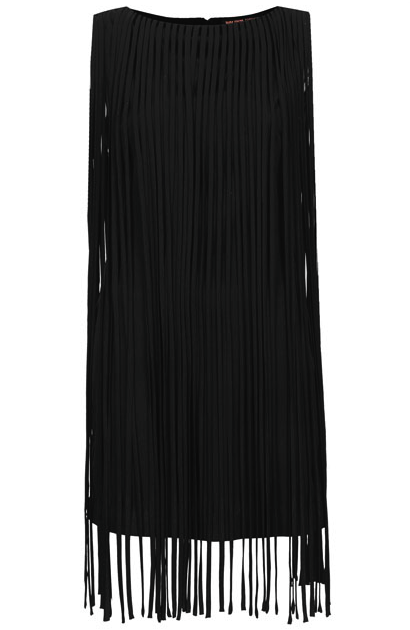 Kate Moss tassel dress