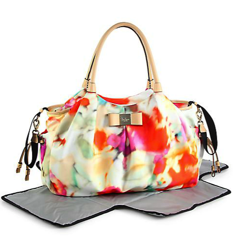 Kate Spade tie-dyed diaper bag