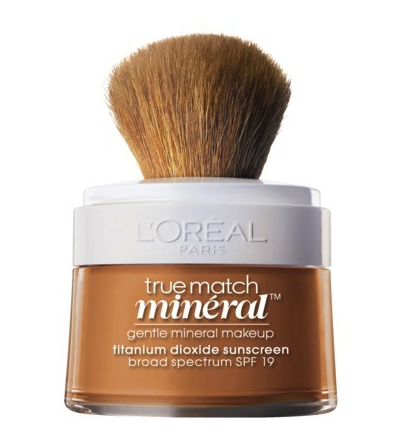 L'Oreal true match mineral foundation and sunscreen