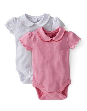 Mini Boden bodysuit (2 pack)