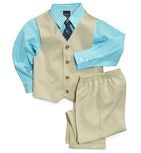 Nautica shirt, pants and suit set