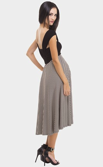 Olian convertable maxi dress