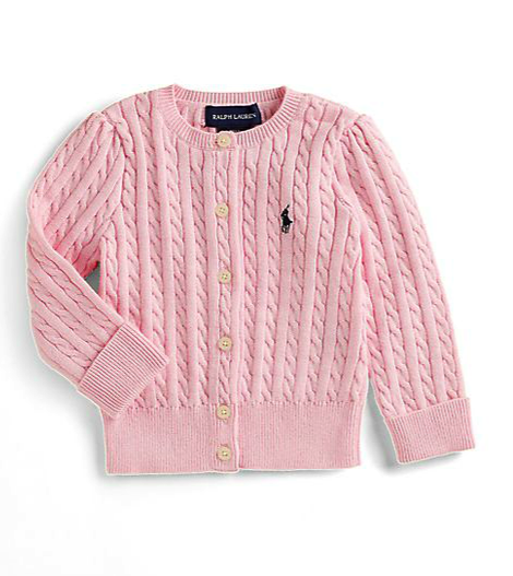 Ralph Lauren infant cardigan